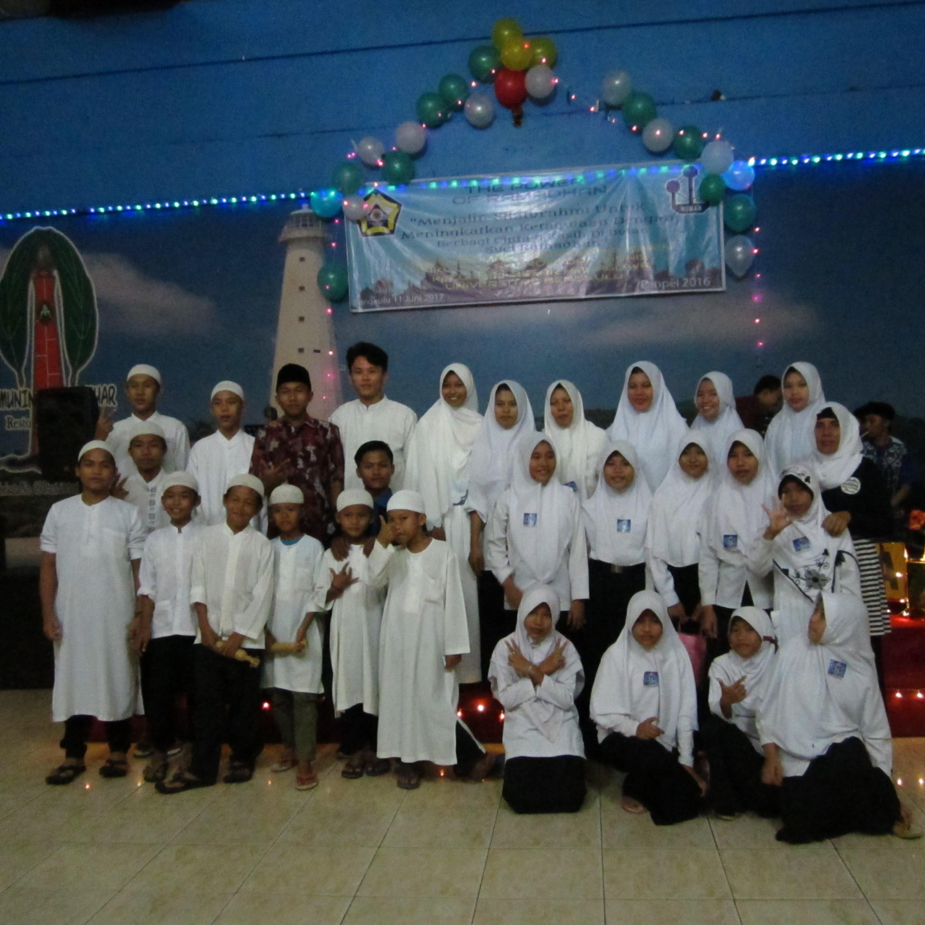Buka Puasa Bersama Himpunan Mahasiswa Manajemen Universitas Bengkulu Bersama Anak Panti Asuhan Bumi Nusantara 1438 H