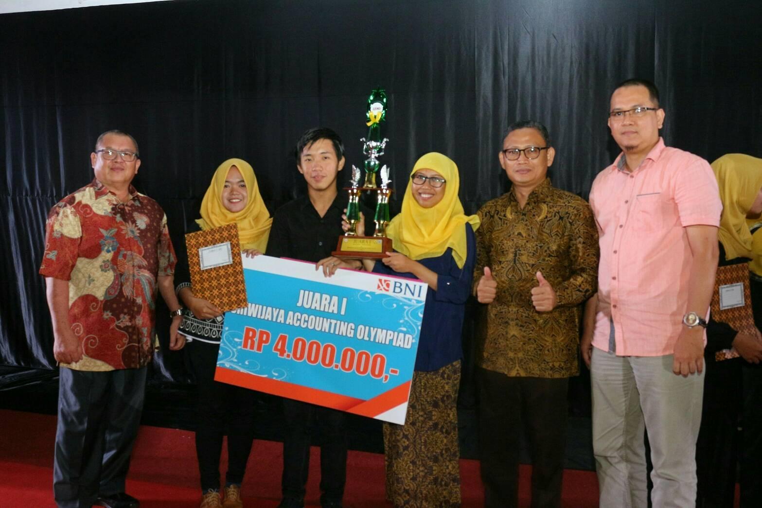 Tim S1 Akuntansi Raih Juara 1 Sriwijaya Accounting Olympiad